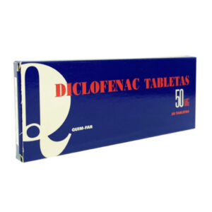 DICLOFENAC SODICO 50 mg tabletas